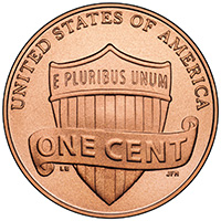 Lincoln Penny Reverse