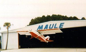 Maule Aircraft, Flying Out Of Hanger