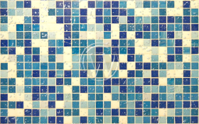 WordPress Logo in Water on Tile