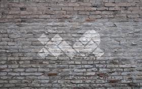 XWP Logo in White on Grey Brick