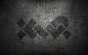 XWP Logo on Scuffed Metal