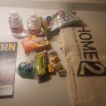 Home2 swag bag