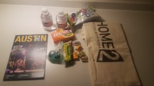 Home2 swag bag