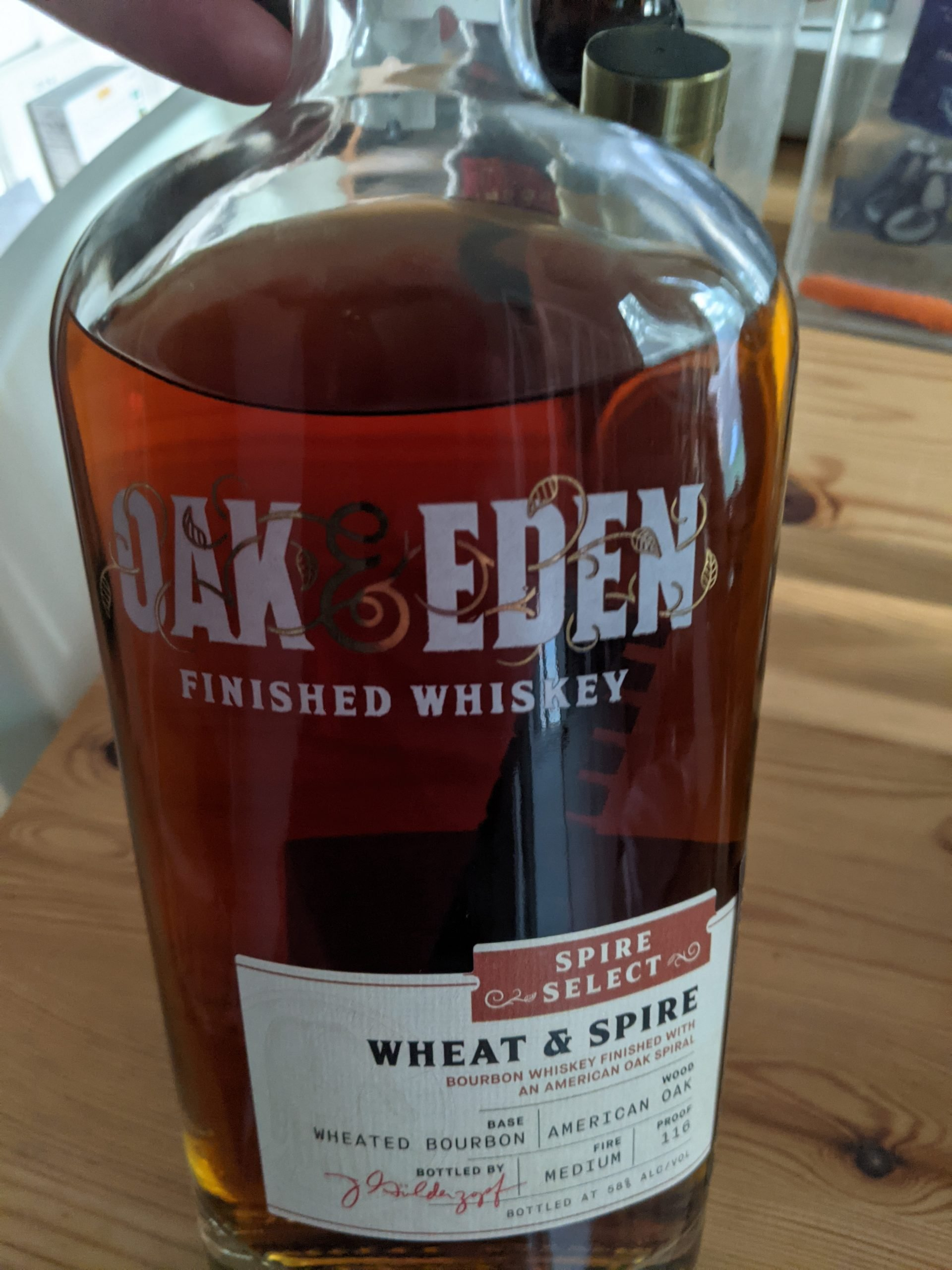 Oak and Eden Wheat and Spire
