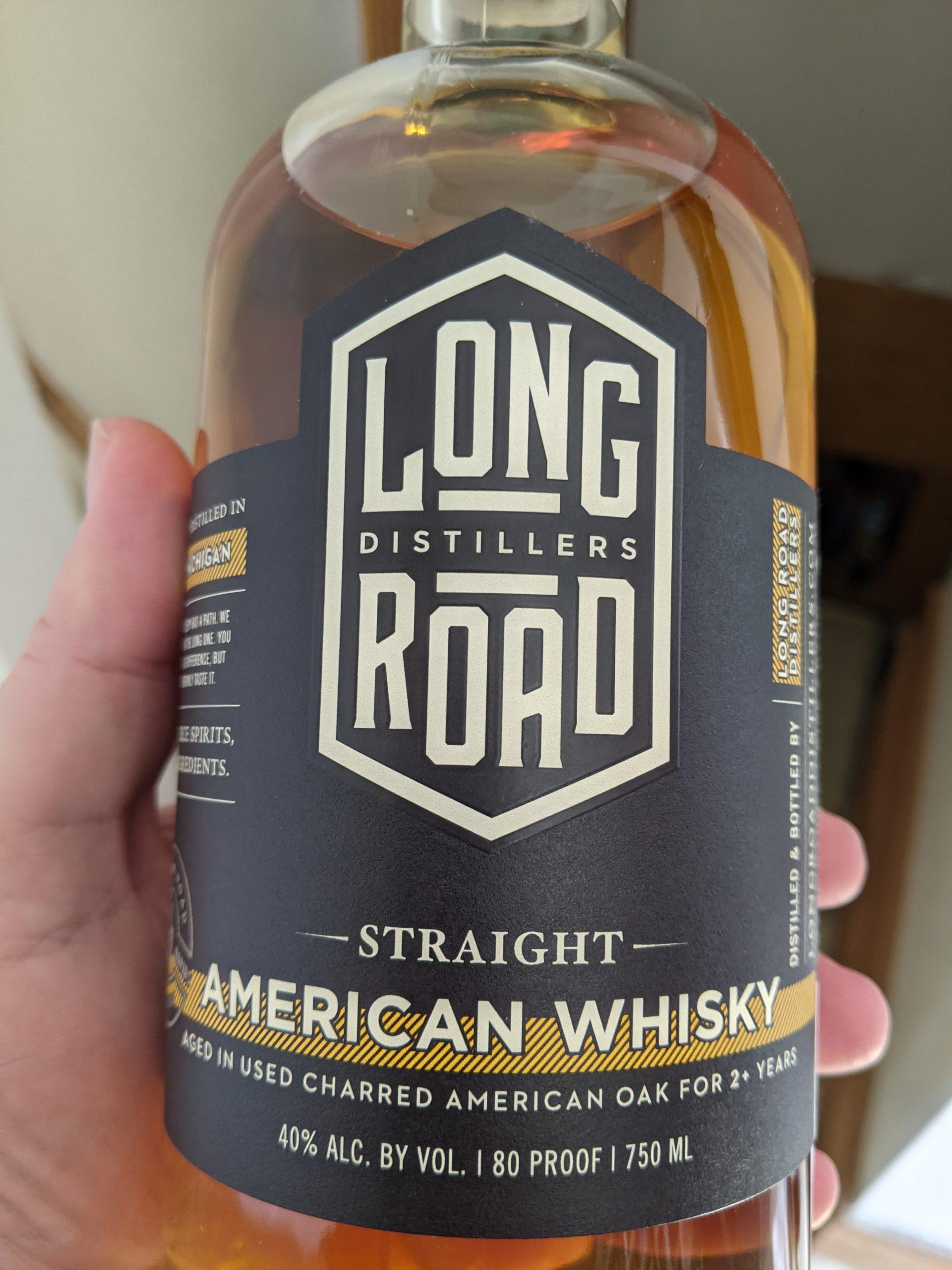 Long Road Straigher American Whiskey